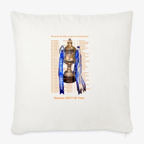 Montrose League Cup Tour - Sofa pillowcase 17,3'' x 17,3'' (45 x 45 cm)