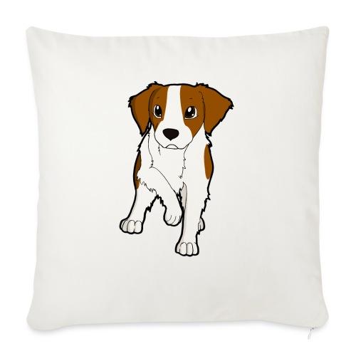 Breton bianco rosso - Copricuscino per divano, 45 x 45 cm