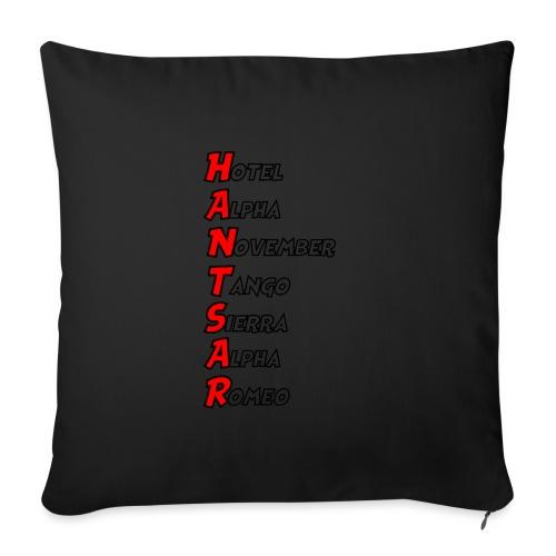 HANTSAR - Phonetic - Sofa pillowcase 17,3'' x 17,3'' (45 x 45 cm)