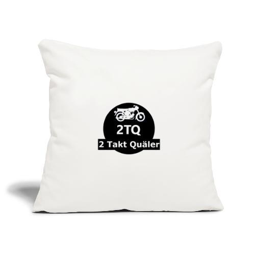 2 Takt Quäler Logo - Sofakissenbezug 44 x 44 cm