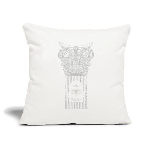 Ode à la mante religieuse - Housse de coussin décorative 45x 45cm