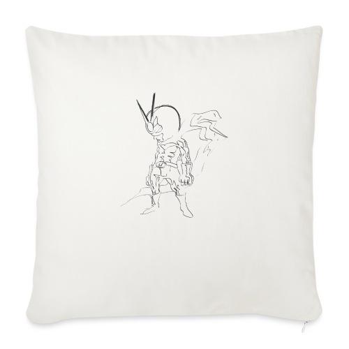 supereroe - Copricuscino per divano, 45 x 45 cm