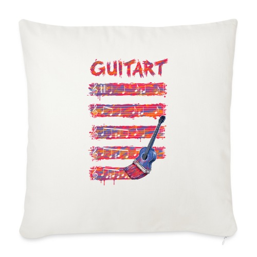 GuitArt - Sofa pillowcase 17,3'' x 17,3'' (45 x 45 cm)