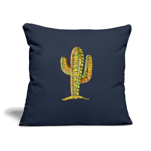 Le cactus - Housse de coussin décorative 45x 45cm