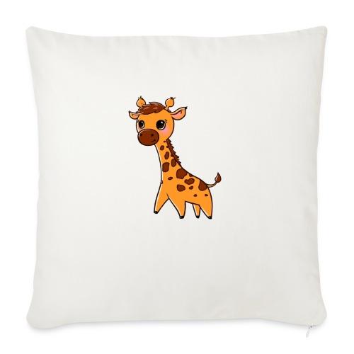 Mini Giraffe - Sofa pillowcase 17,3'' x 17,3'' (45 x 45 cm)