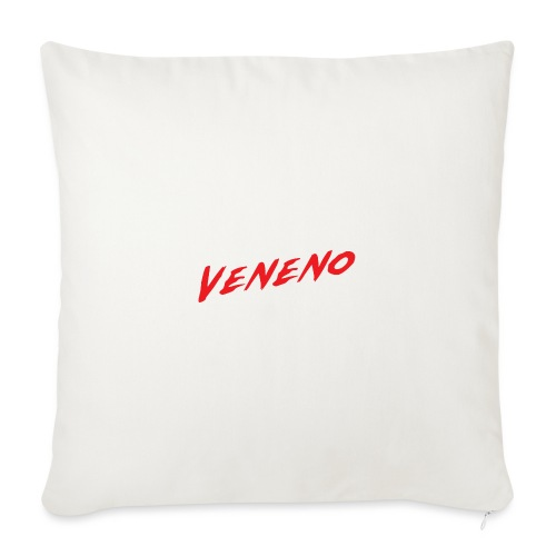 VENENO - Funda de cojín, 45 x 45 cm