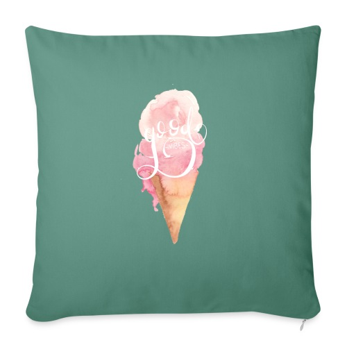 Good Vibes Ice Cream n°1 - Sofakissenbezug 44 x 44 cm