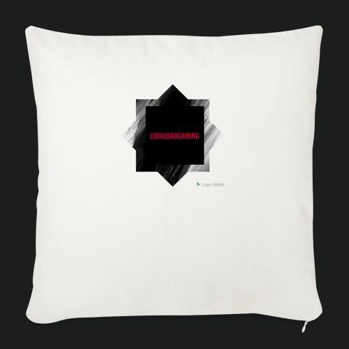 New logo t shirt - Sierkussenhoes, 45 x 45 cm