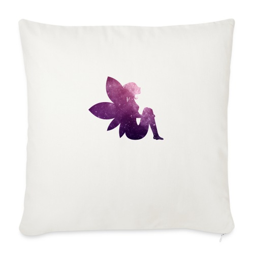 Purple fairy - Sofaputetrekk 45 x 45 cm