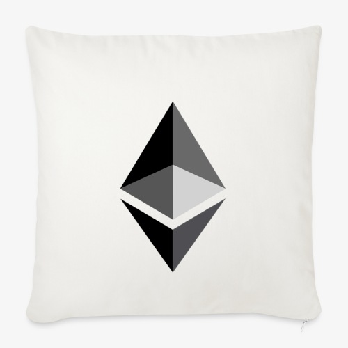 HODL-ethbig-b - Sofa pillowcase 17,3'' x 17,3'' (45 x 45 cm)
