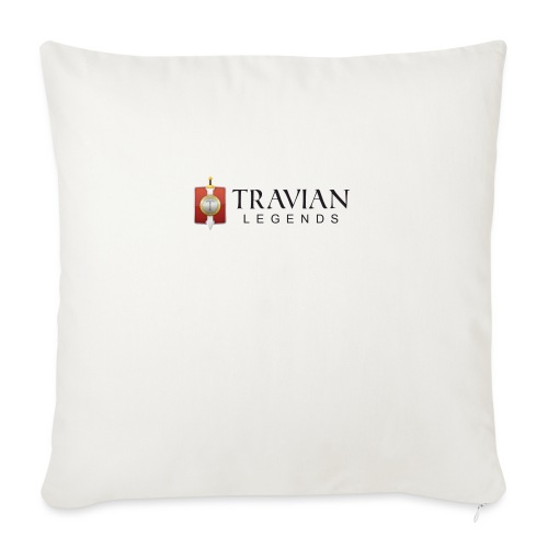 Travian Legends Logo - Sofa pillowcase 17,3'' x 17,3'' (45 x 45 cm)
