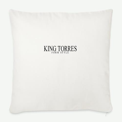 king torres - Funda de cojín, 45 x 45 cm