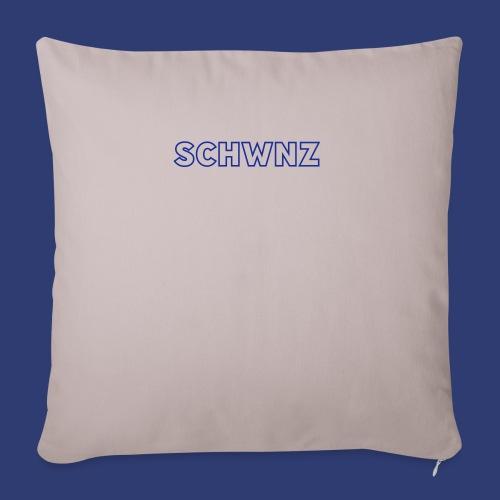 SCHWNZ - Sierkussenhoes, 45 x 45 cm