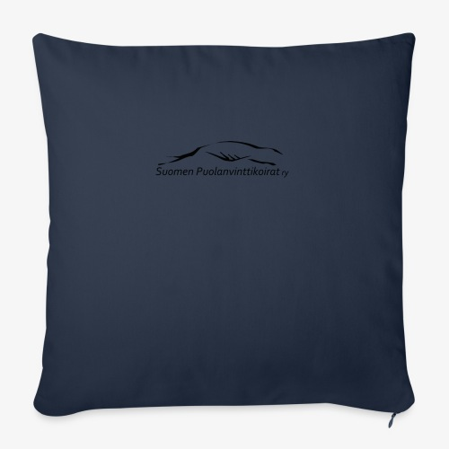 SUP logo musta - Sohvatyynyn päällinen 45 x 45 cm