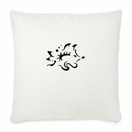 Hedgehog, pure tribal design - Sofa pillowcase 17,3'' x 17,3'' (45 x 45 cm)
