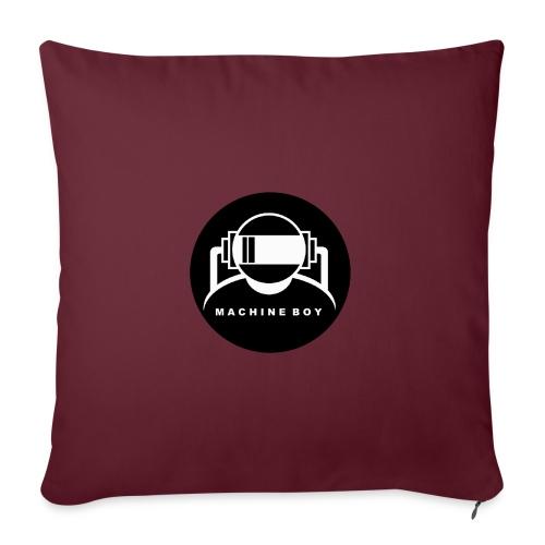 Machine Boy Black - Sofa pillowcase 17,3'' x 17,3'' (45 x 45 cm)