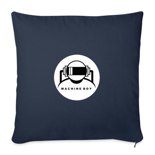Machine Boy White - Sofa pillowcase 17,3'' x 17,3'' (45 x 45 cm)