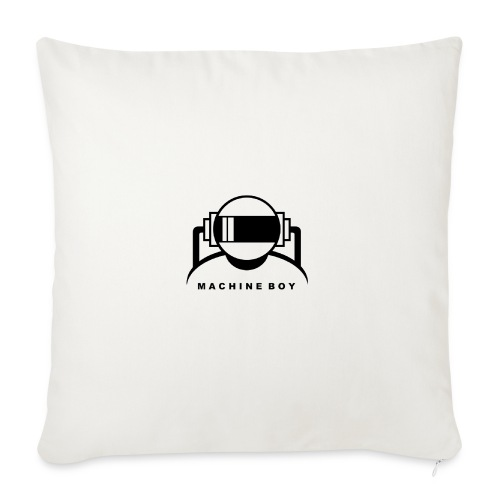 Machine Boy White - Sofa pillowcase 17,3'' x 17,3'' (45 x 45 cm)