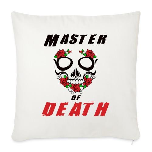 Master of death - black - Poszewka na poduszkę 45 x 45 cm