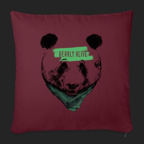 Panda bearly alive - Housse de coussin décorative 45x 45cm
