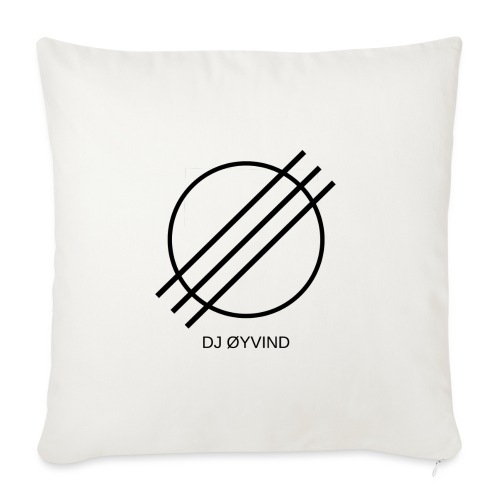 DJ Øyvind Logo (Offisiell) - Sofaputetrekk 45 x 45 cm