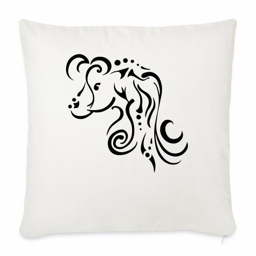 Mare, clean tribal design - Sofa pillowcase 17,3'' x 17,3'' (45 x 45 cm)