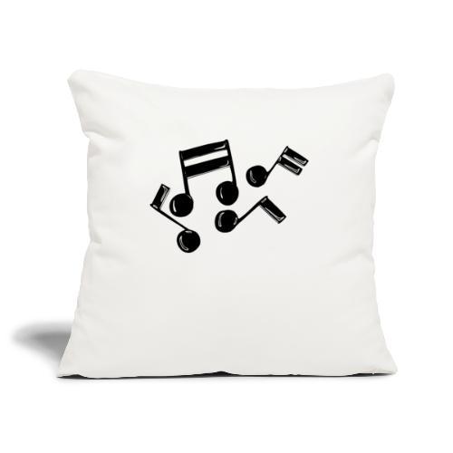 Musik Symbol Note Noten musiknoten spielen - Sofakissenbezug 44 x 44 cm