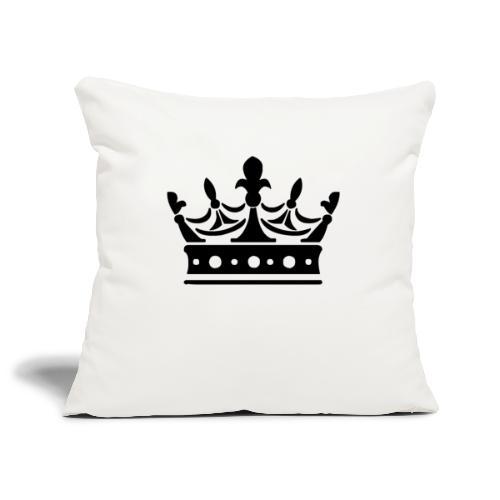 Krone Symbol König Kaiser Königin Mittelalter - Sofakissenbezug 44 x 44 cm