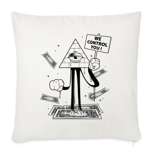We Control You - Conspiration Design - Housse de coussin décorative 45x 45cm