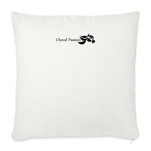 CHEVAL passion - Housse de coussin décorative 45x 45cm