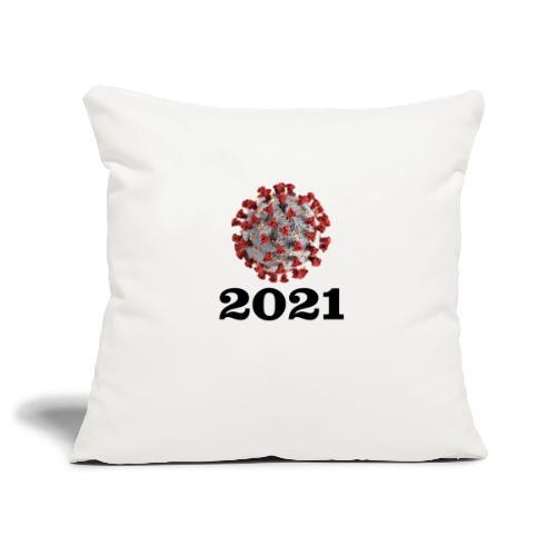 Virus 2021 - Sofakissenbezug 44 x 44 cm