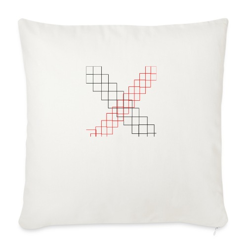 squares - Housse de coussin décorative 45x 45cm