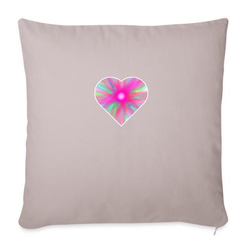 heart light - Sofa pillowcase 17,3'' x 17,3'' (45 x 45 cm)