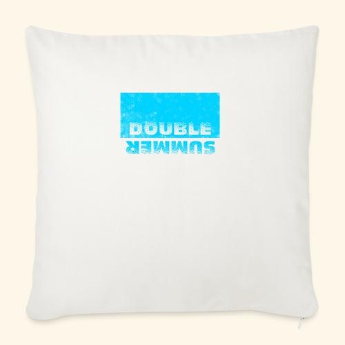 Double Summer - Sofakissenbezug 44 x 44 cm