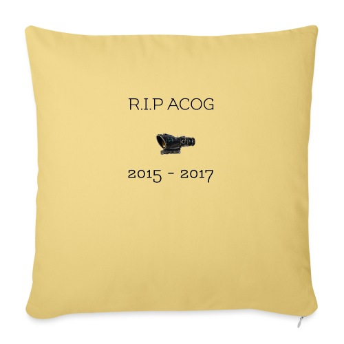 R.I.P ACOG 2015-2017 Collection - Sofa pillowcase 17,3'' x 17,3'' (45 x 45 cm)