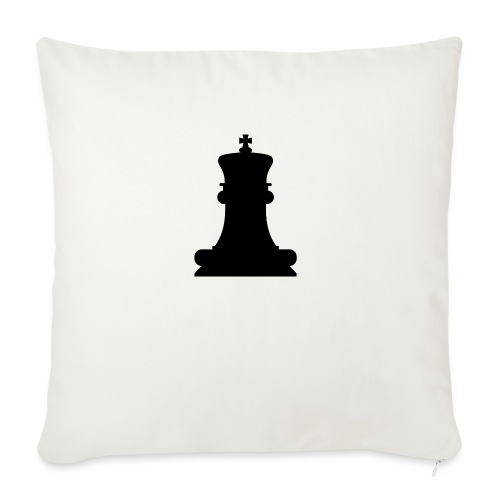 The Black King - Sofa pillowcase 17,3'' x 17,3'' (45 x 45 cm)