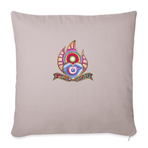 Heartburning - Sofa pillowcase 17,3'' x 17,3'' (45 x 45 cm)