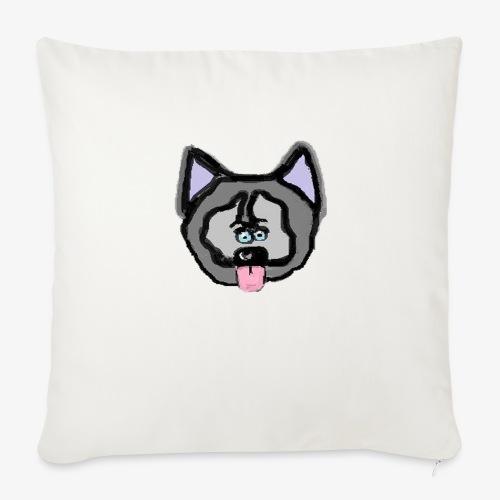 husky png - Sofa pillowcase 17,3'' x 17,3'' (45 x 45 cm)