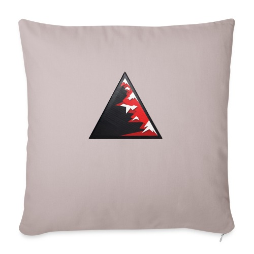 Climb high as a mountains to achieve high - Sofa pillowcase 17,3'' x 17,3'' (45 x 45 cm)