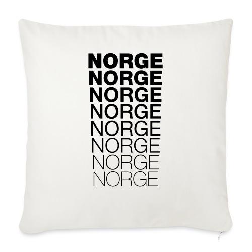 Norge Norge Norge Norge Norge Norge - Sofaputetrekk 45 x 45 cm