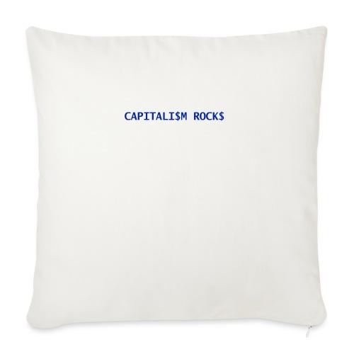 CAPITALISM ROCKS - Copricuscino per divano, 45 x 45 cm