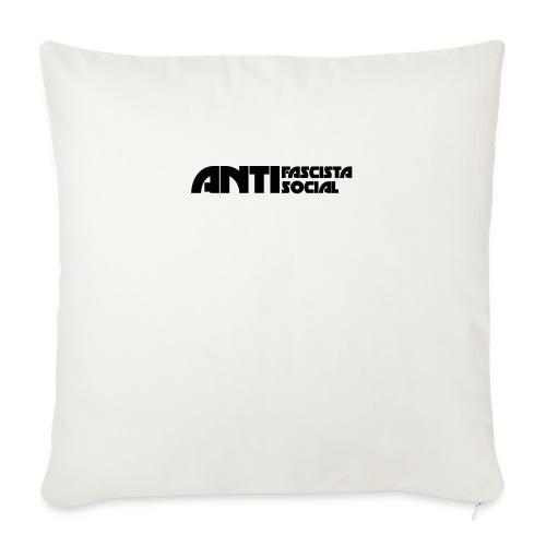 Antifaso_svart - Soffkuddsöverdrag, 45 x 45 cm