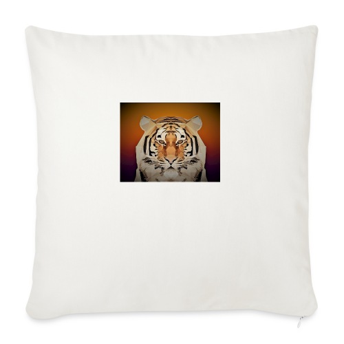 TIGER copy jpg edited windows - Sofa pillowcase 17,3'' x 17,3'' (45 x 45 cm)