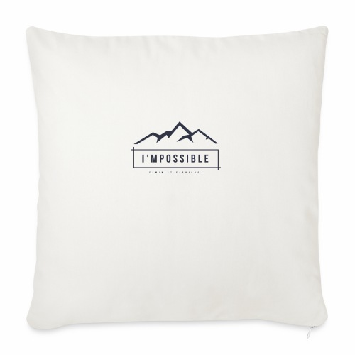 Impossible - Sofa pillowcase 17,3'' x 17,3'' (45 x 45 cm)