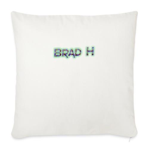 Official Brad H Logo - Sofa pillowcase 17,3'' x 17,3'' (45 x 45 cm)
