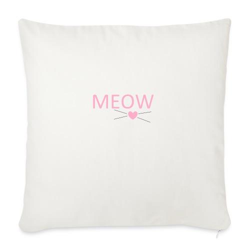 MEOW - Poszewka na poduszkę 45 x 45 cm