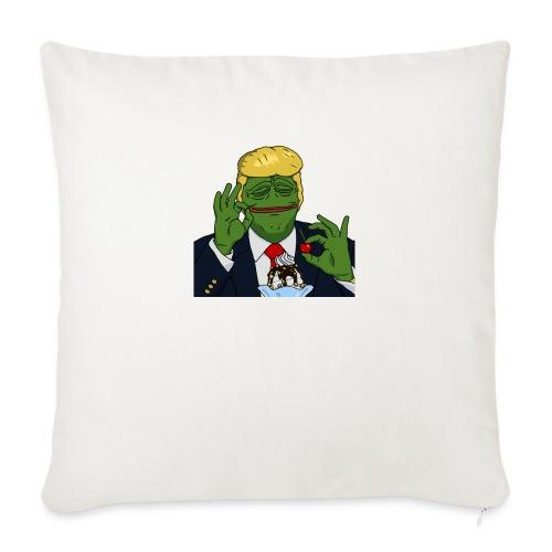 Two Scoops Trump - Sofa pillowcase 17,3'' x 17,3'' (45 x 45 cm)