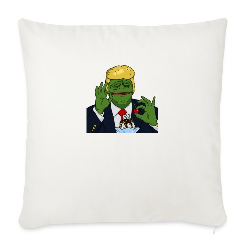 Two Scoops Trump - Sofa pillowcase 17,3'' x 17,3'' (45 x 45 cm)