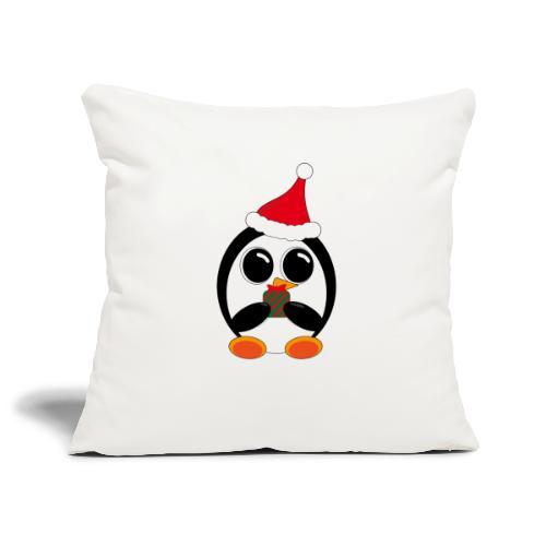 Pingouin - Housse de coussin décorative 45x 45cm