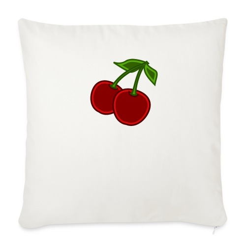 cherry - Poszewka na poduszkę 45 x 45 cm